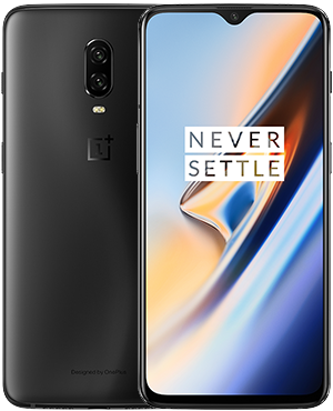 device category OnePlus 6T - Midnight Black 8GB RAM + 128GB Storage