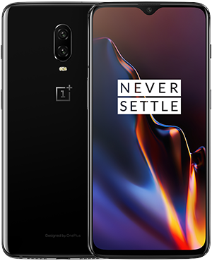 device category OnePlus 6T - Mirror Black 8GB RAM + 128GB Storage