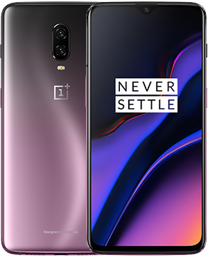 device category OnePlus 6T - Thunder Purple 8GB RAM + 128GB Storage